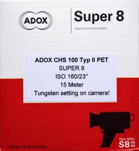 ADOX CHS II 100 PET