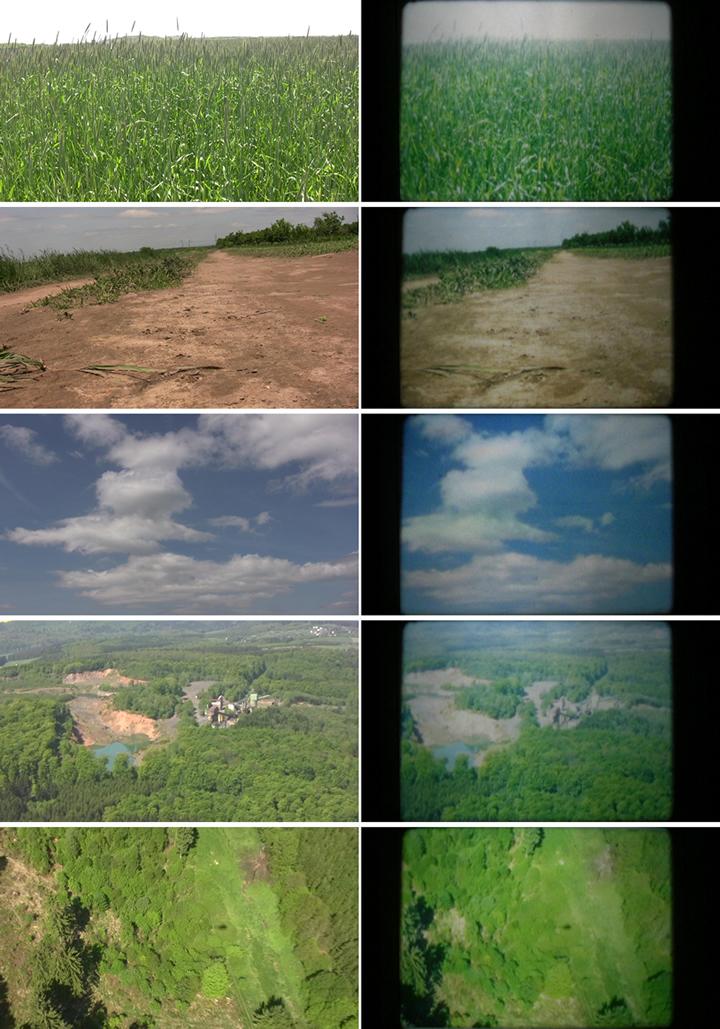 Analogisierung in Farbe - Vergleich HDV - Super 8