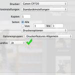Canon Selphy CP720 OS X Mavericks