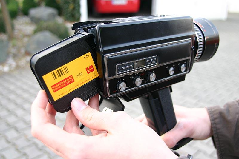 Zum Filmen muss eine Super-8-Kamera her! Aber welche?