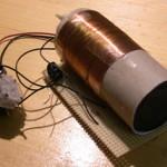 Detektorradio ohne Gehäuse