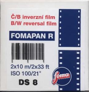 Fomapan R100 Doppel Super 8 - 10 m
