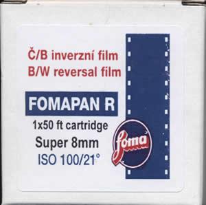 Fomapan R100 Super 8 - Kassettenkonfektion