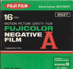Fujicolor Negative Film A (16 mm)