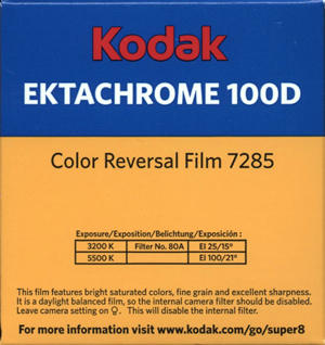 Kodak Ektachrome 100D