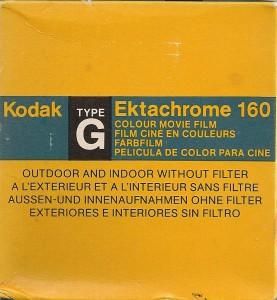 Kodak Ektachrome 160 Typ G