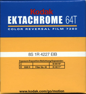 Kodak Ektachrome 64T