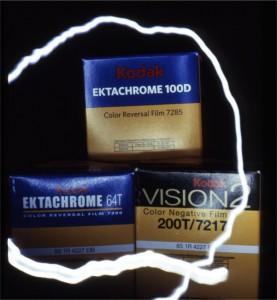 Kodak E100D, E64T, Vision2 200T
