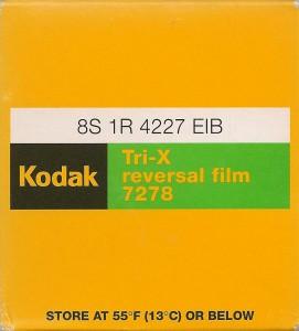 Kodak Tri-X 7278
