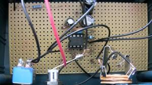 """Miniverstärker mit dem IC """"LM386"""""""