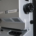 Noris Record L - 50-Watt-Stummfilmprojektor aus den 1960ern.