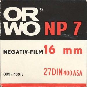 Orwo NP 7 (16 mm)