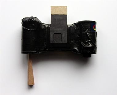 Streichholzschachtel Lochkamera 01